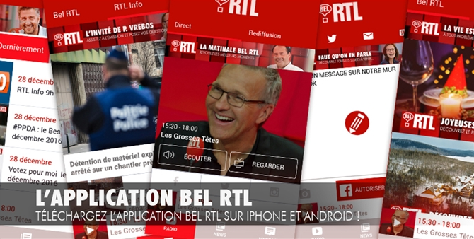 Application Bel RTL