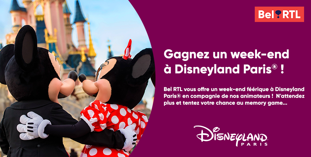 Gagnez un week-end à Disneyland® Paris !