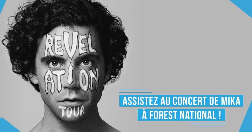 Assistez au concert de Mika à Forest National !